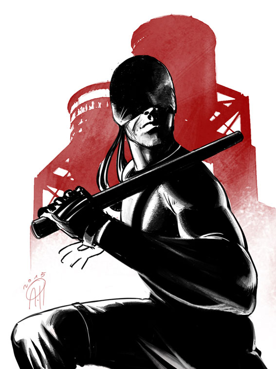 Daredevil tv show by deralbi on deviantart for Craft shows on tv