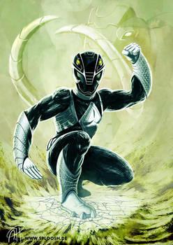 Power Rangers - Black Ranger Redesign