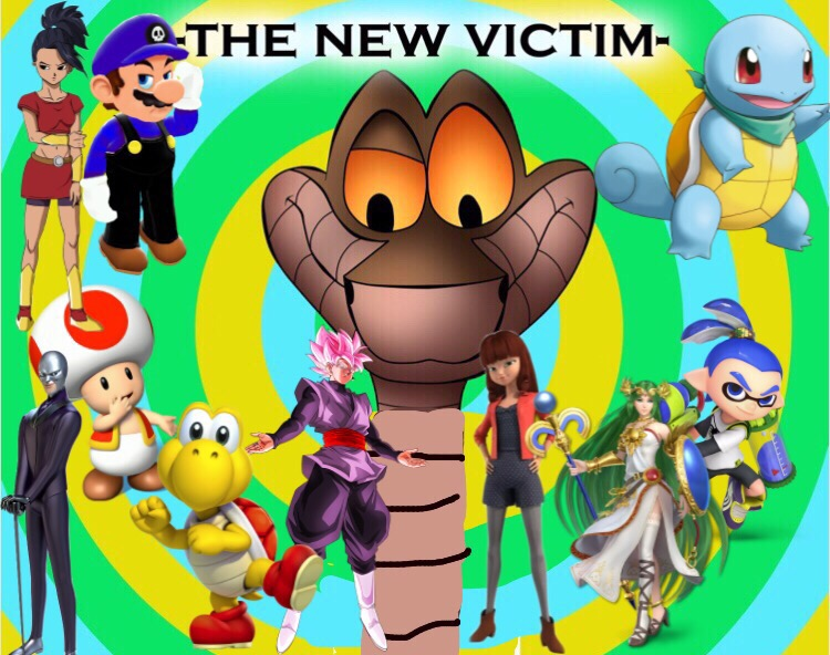 New victims for kaa (vore)