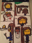 Kaa and frisk (Comic 1)