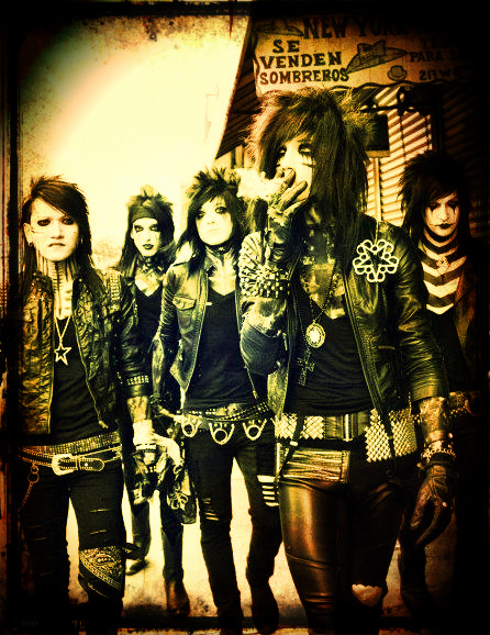 Black Veil Brides by xMasqueradedFacesX