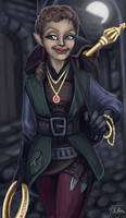 Tasoula the Rogue - Contest entry by The-Unj