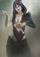 Witch of the Wilds by The-Unj