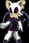 Rouge.exe (The Vampire Bat) by waleedtariqmmd