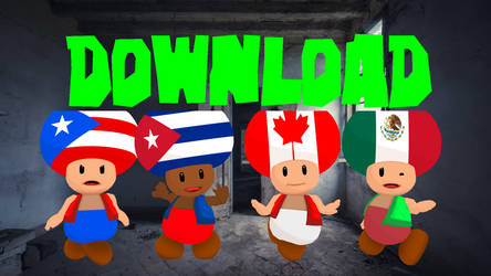 CountryToads North America Models Download MMD