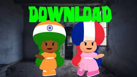 CountryToads France and India Models Download MMD
