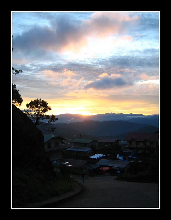 Kadaclan Village Sunrise by curiouzkatt