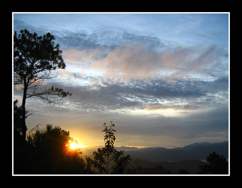 Kadaclan Village Sunrise 2 by curiouzkatt