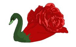 Rose Swan by Reveta