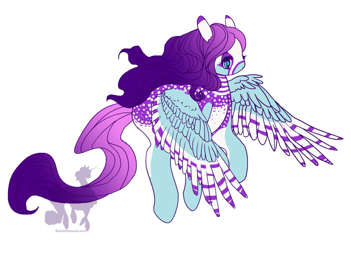 On Purple Wings by Reveta