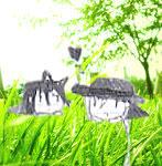ShiroAki in the Grass Real by Ilikeyoai25