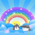 ShiroAki Rainbow by Ilikeyoai25