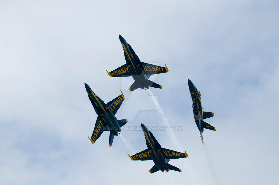 Blue Angels by RawShotz