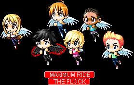 Maximum Ride: The Flock by Vocaloid-ZeldaFan