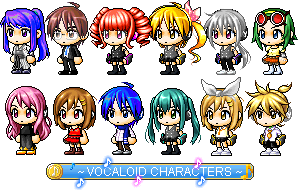 Vocaloid Characters (Improvements~!) by Vocaloid-ZeldaFan