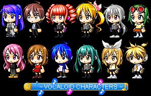 Vocaloid Characters (Improvements~!) by Vocaloid-ZeldaFan