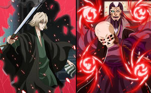 Urahara and Bansui -Fight of Master and Apprentice