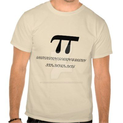 Hexadecimal Pi Day t-shirt by ProSonicIncorporated