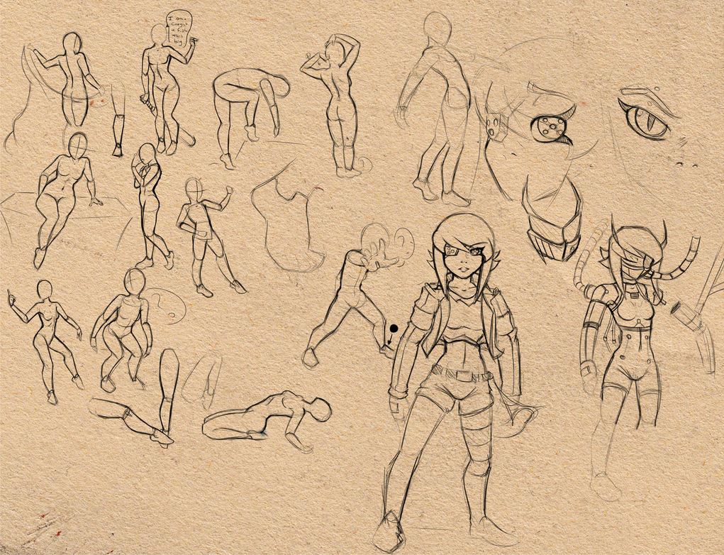 More practice n random sketch stuff by Reliusmax