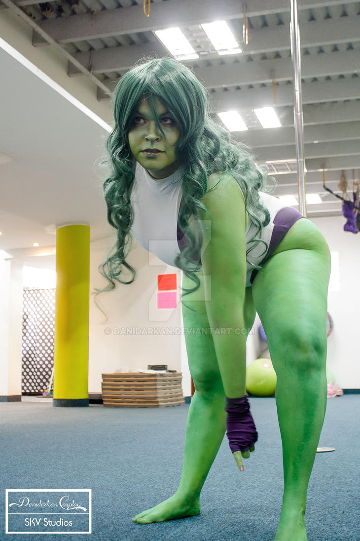 She Hulk Cosplay comission by danidarkan ...  sc 1 st  DeviantArt : she hulk costume  - Germanpascual.Com