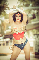 Wonder Woman Cosplay Classic Suit Photo Shoot by Clair85