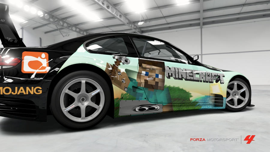 Minecraft Racer by RoflOps942