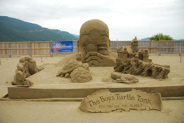 Sand Sculpture,Canada 2 by ajithrajeswari