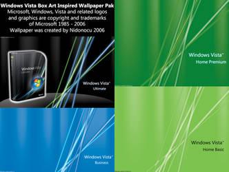 Windows Vista Box Art Pak