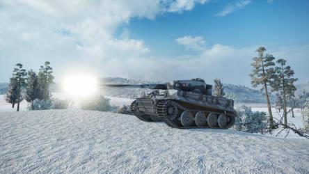 Epic Tank Pose by MandaloreTheEternal