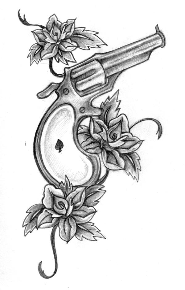 gun tattoo by Rieter on deviantART