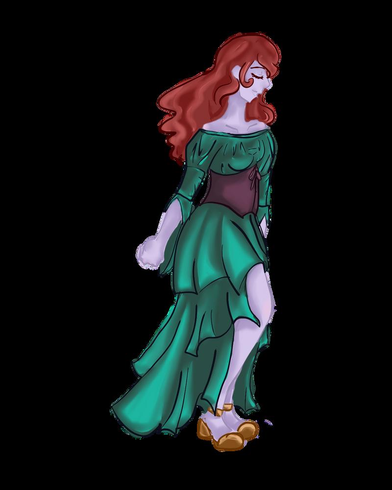 Eris as Mina Harker by TheShadowsStrike