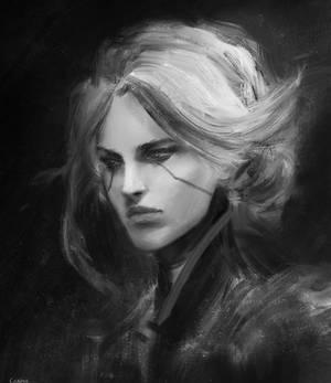 Fan art: Camille, league of legends.
