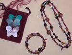Megan's Purple Jewelry Set