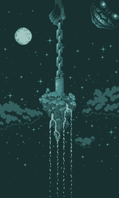 Moonlight in the world chain by Tioluko