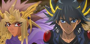 Yusei And Atem