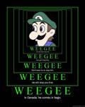 Infinite Weegee Poster