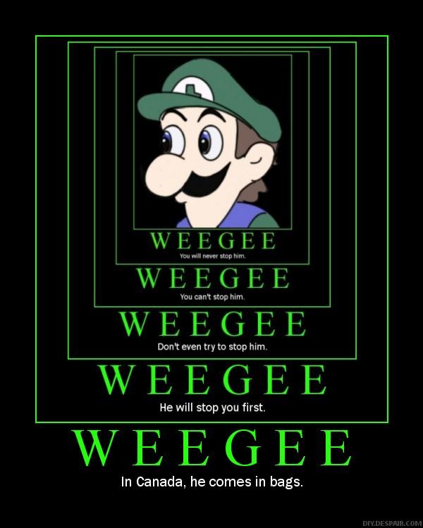 Infinite Weegee Poster by dantephreak