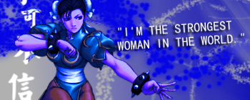 Strongest Woman in the World by dantephreak