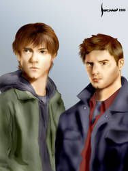 Sam and Dean - Brothers by jadedman