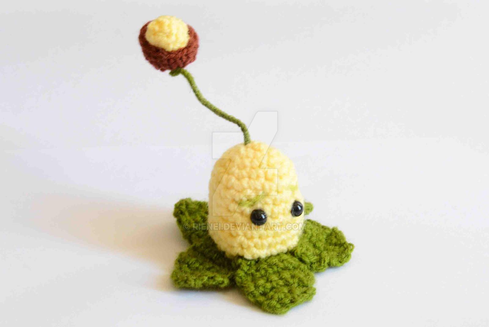 Crochet Plants Vs Zombies Patterns : Crochet Plants VS Zombies Kernel-pult Pattern by Rienei on DeviantArt