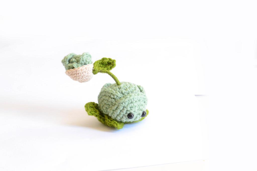 Crochet Plants Vs Zombies Patterns : Crochet Plants VS Zombies Cabbage pult pattern by Rienei on deviantART