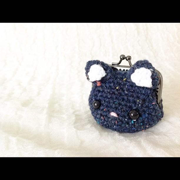 Crochet Neko - chan Coin Purse Pattern (Etsy) by Rienei on DeviantArt