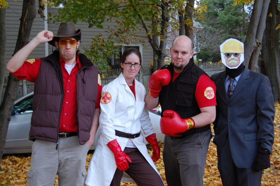 tf2 halloween 2009 by deingeist - Tf2 Halloween Masks