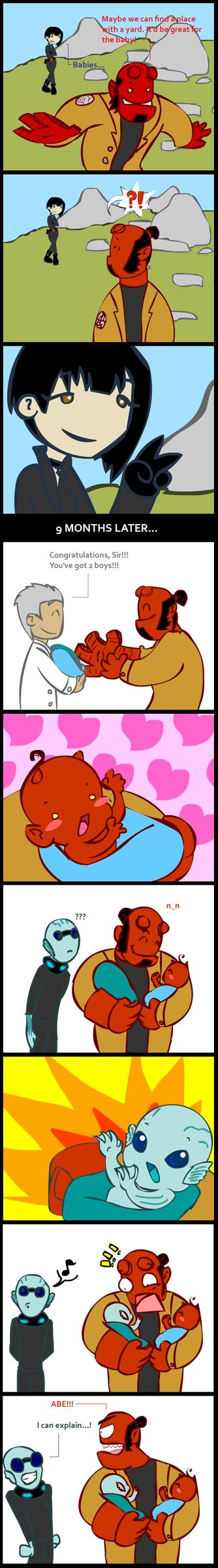 ::2 babies:: by Gusana