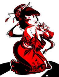 Geisha Tattoo 2 by Gusana