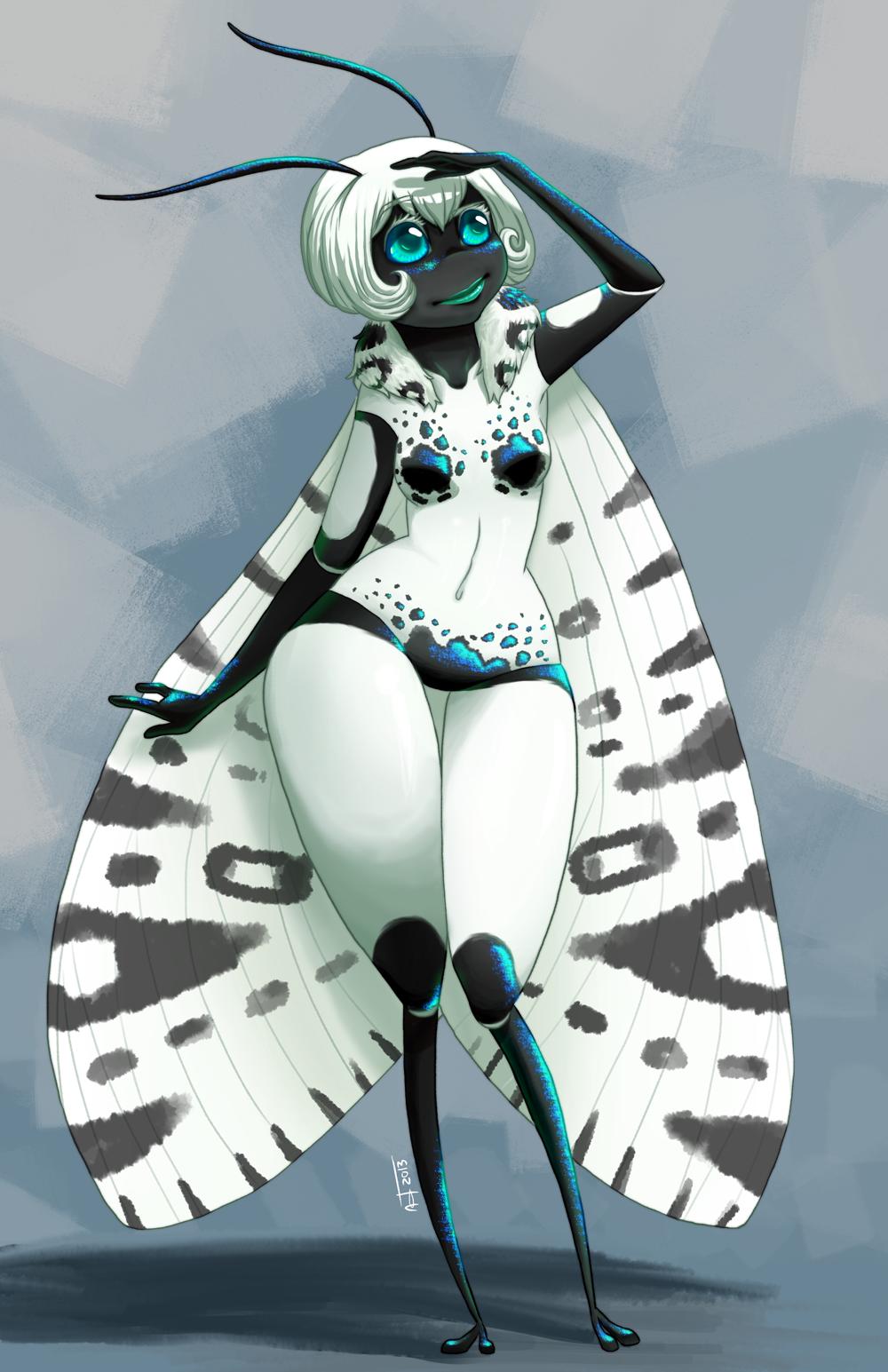 Lady Moth by Gusana