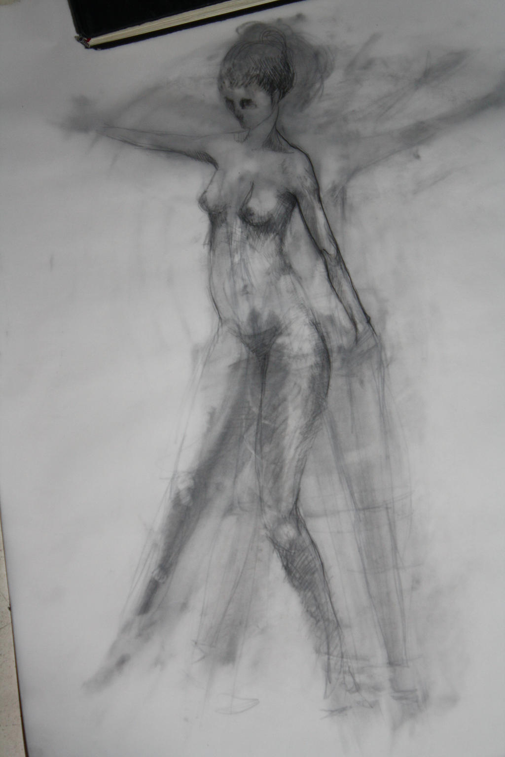 Practice in the Faculty (study of movement) by BrainBlueArts