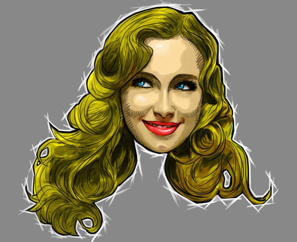 Portrait 2 by BrainBlueArts
