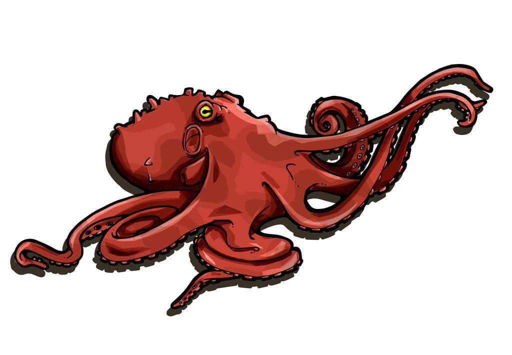 Octopus by BrainBlueArts