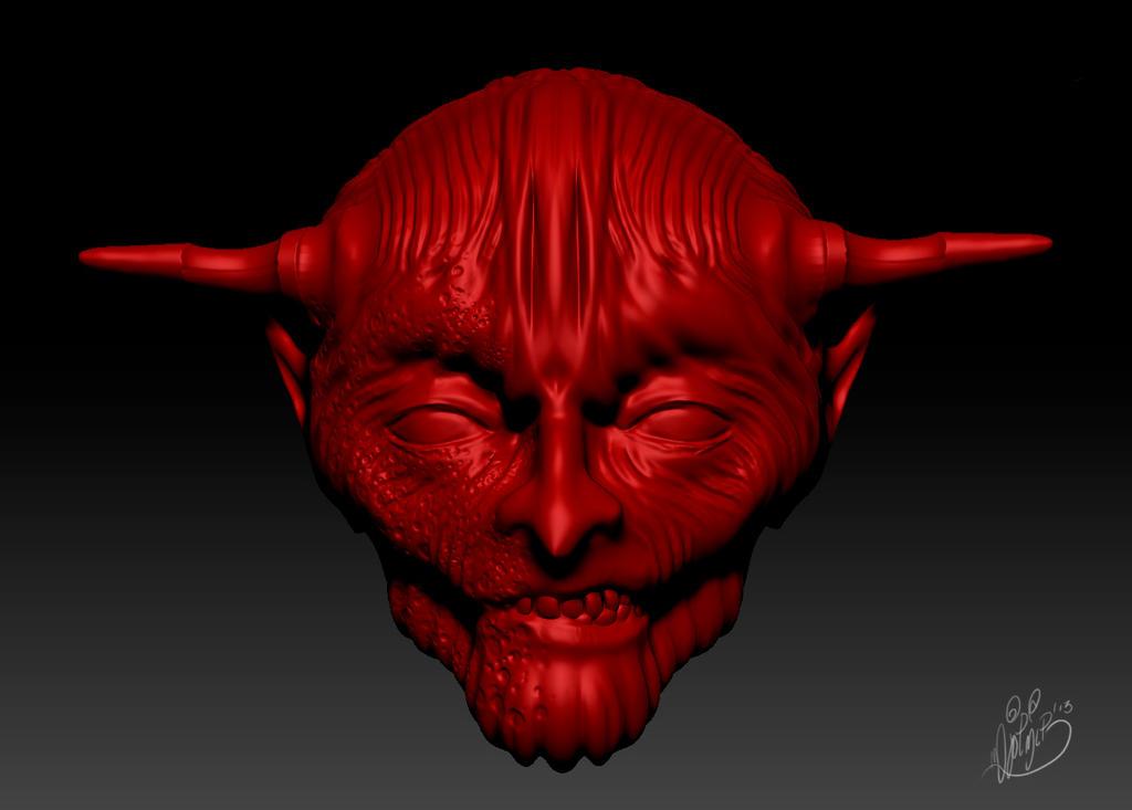 Demon by BrainBlueArts